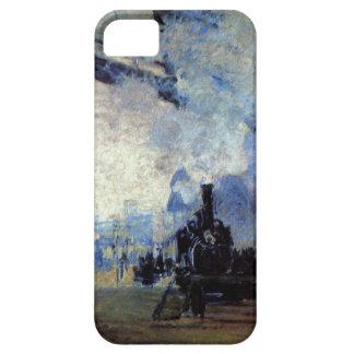 Alto santo Lazare de la estación del Res Monet en iPhone 5 Carcasa