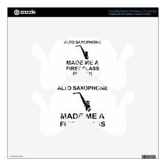 Alto saxophone design PS3 controller skin