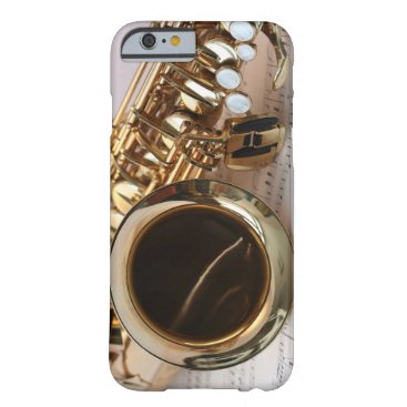 daisyprint Alto Saxophone Music Barely There iPhone 6 Case