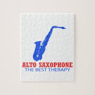 Alto saxophone Musical designs Jigsaw Puzzles