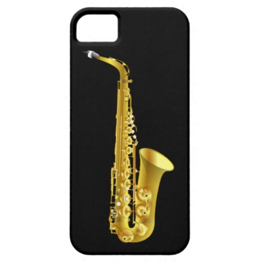 Alto Saxophone Sax Brass Music Instrument iPhone 5 Covers