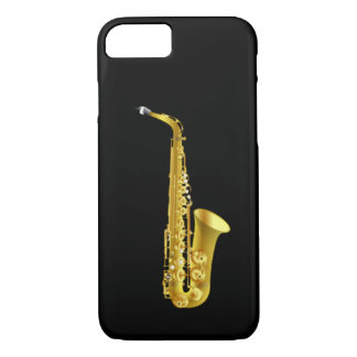Alto Saxophone Sax Brass Music Instrument iPhone 7 Case