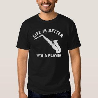 Alto Saxophone Vector Designs T-shirts