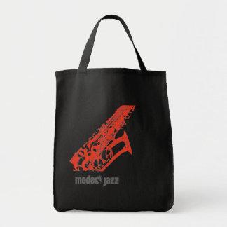 alto-sex, Modern jazz Tote Bags