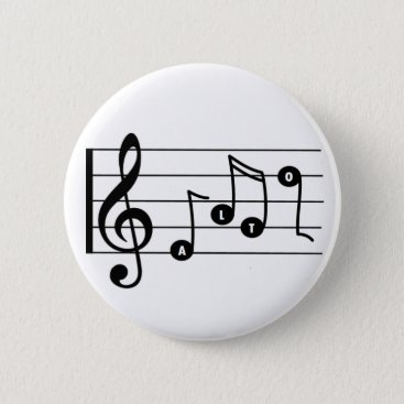 Professional Business Alto Singer Musical Button