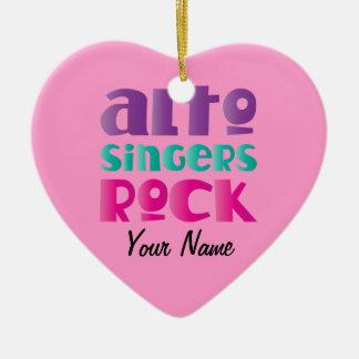Alto Singers Rock Choir Music Ornament Gift