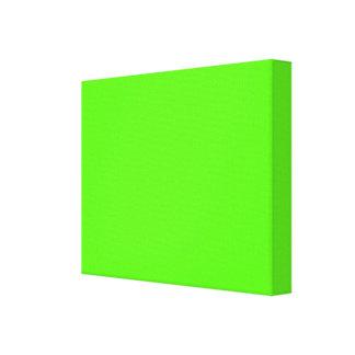 Alto verde del neón de la visibilidad lona envuelta para galerías