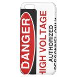 Alto voltaje del peligro