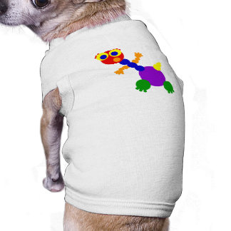 Alto y delgado playera sin mangas para perro