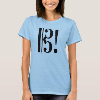 AltoClefExclaimBlk T-Shirt