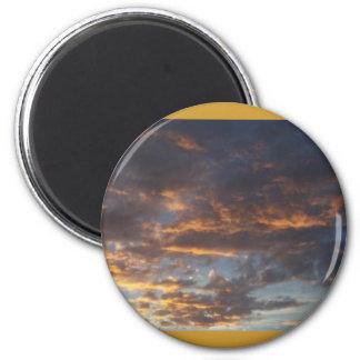 Altocumulus at Sunset Refrigerator Magnets