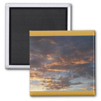 Altocumulus at Sunset Magnets