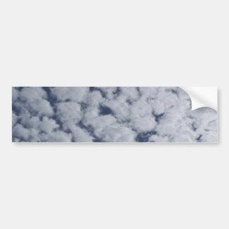 Altocumulus Clouds Bumper Stickers