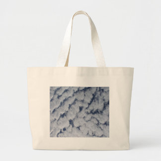 Altocumulus Clouds Canvas Bags