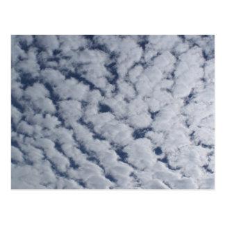 Altocumulus Clouds Post Cards