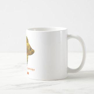 Altolamprologus compressiceps classic white coffee mug