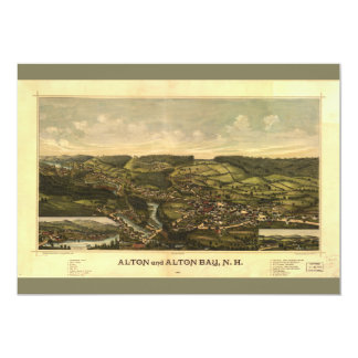 Alton and Alton Bay, New Hampshire (1888) Card