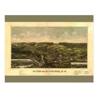 Alton and Alton Bay, New Hampshire (1888) Postcard
