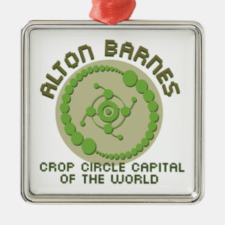 Alton Barnes Metal Ornament