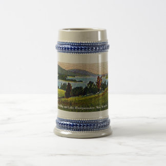 Alton Bay and Lake Winnipesaukee, New Hampshire Beer Stein