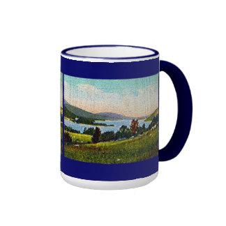 Alton Bay and Lake Winnipesaukee, New Hampshire Ringer Coffee Mug