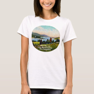 Alton Bay and Lake Winnipesaukee, New Hampshire T-Shirt