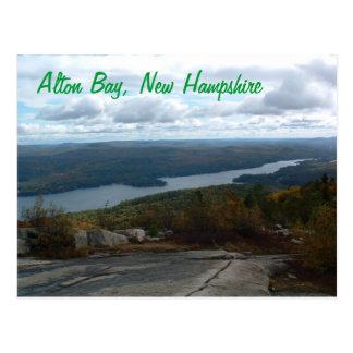 Alton Bay New Hampshire postcard