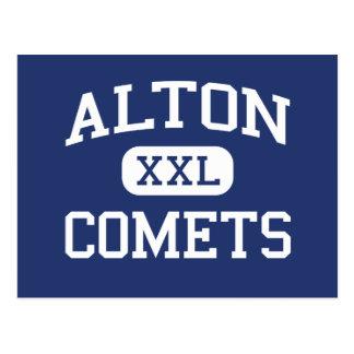 Alton - Comets - High School - Alton Missouri Postcard