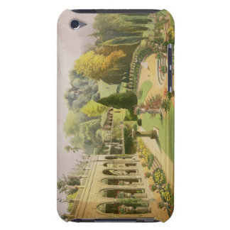 Alton Gardens, from 'The Gardens of England', 1857 Case-Mate iPod Touch Case