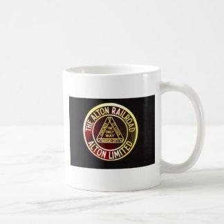 Alton Railroad Sign Mug