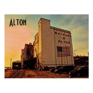 Alton Silo Postcard