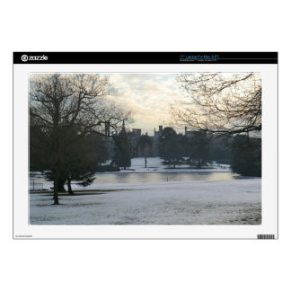 Alton Towers in the Snow Laptop Decal