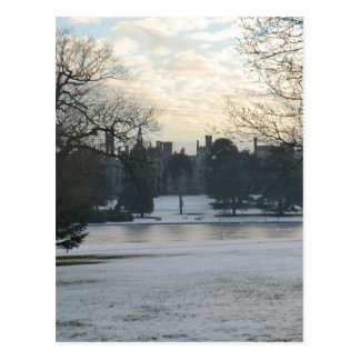 Alton Towers in the Snow Postcard