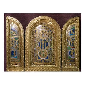 Alton Towers Triptych, c.1150 Postcard