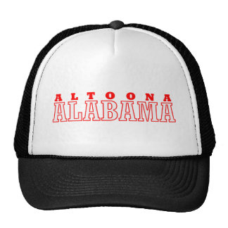 Altoona, Alabama City Design Trucker Hat
