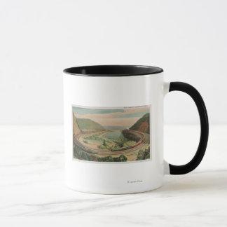 Altoona, Pennsylvania, The Famous Horseshoe Curv Mug