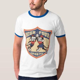 Altos cuatro deportes camisas