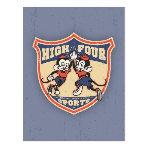 Altos cuatro deportes postales