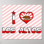 Altos del Los, CA Posters