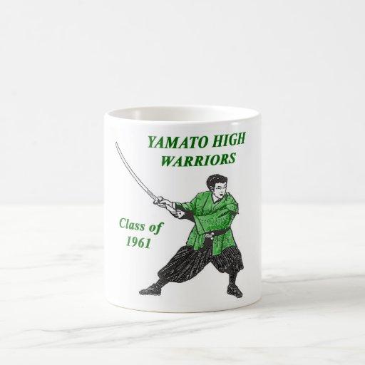 altos guerreros 1961 de Yamato Taza Básica Blanca
