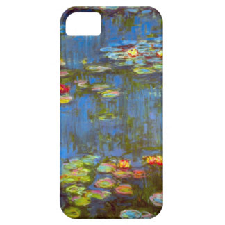 Altos lirios de agua del Res Claude Monet iPhone 5 Funda