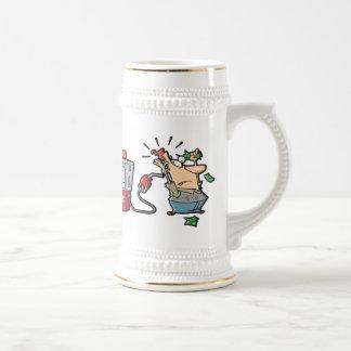Altos personajes de dibujos animados de los precio taza de café
