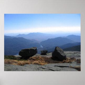 Altos picos de Adirondack - cumbre del Algonquin Póster