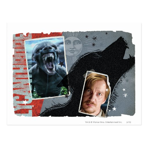 Altramuz - licántropo tarjetas postales