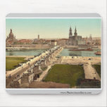 Altstadt, Dresden, seen from the Ministry of War, Mouse Pad