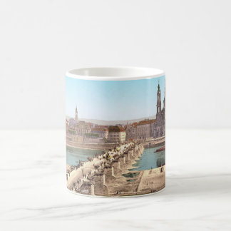Altstadt Old City Dresden View from War Ministry Classic White Coffee Mug