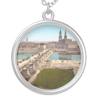 Altstadt Old City Dresden View from War Ministry Personalized Necklace