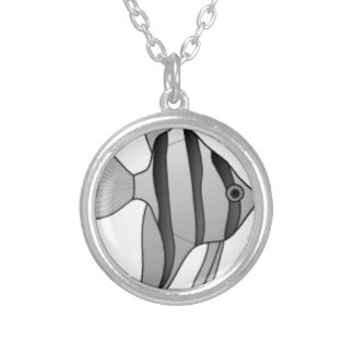 Altum Angelfish Silver Plated Necklace