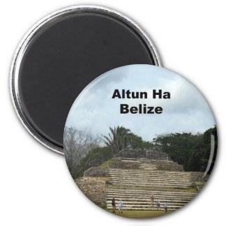 Altun Ha, Belize 2 Inch Round Magnet