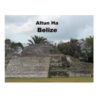 Altun Ha Belize Postcards
